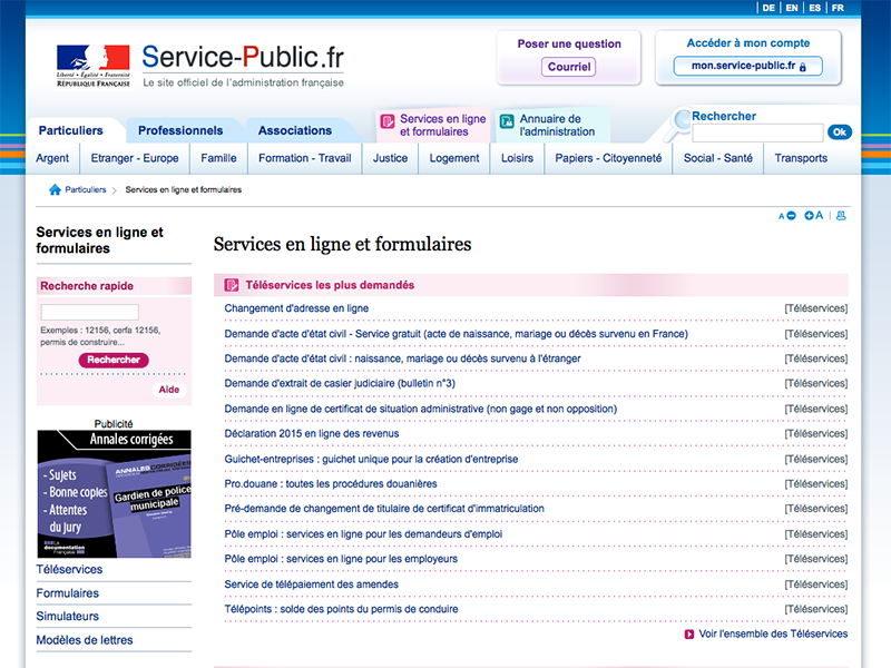 service-public-formulaires-demarches-en-ligne