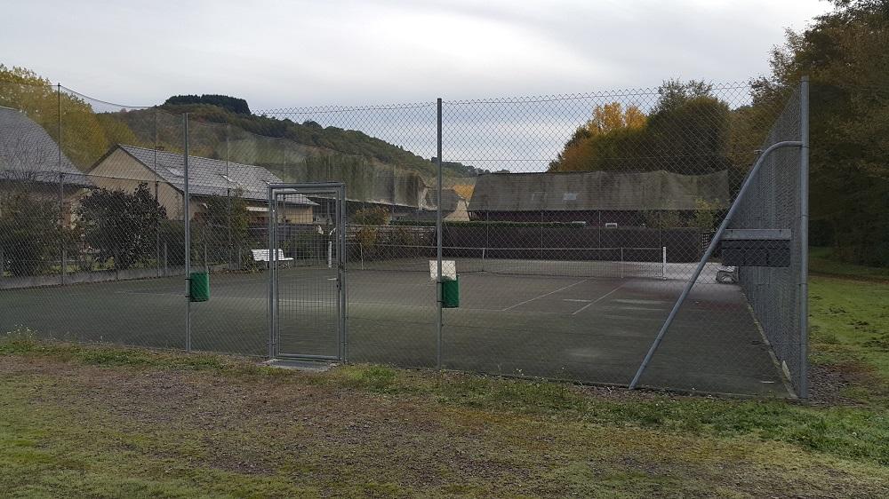 court de tennis de Lanteuil