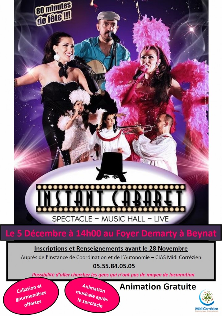 spectacle intance Beynat