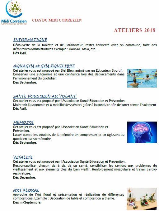 Ateliers 2018 CIAS Midi CO