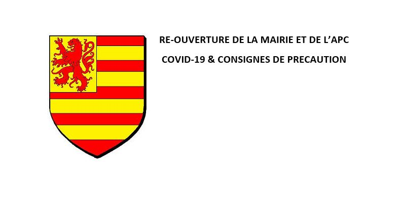 reouverture mairie covid19
