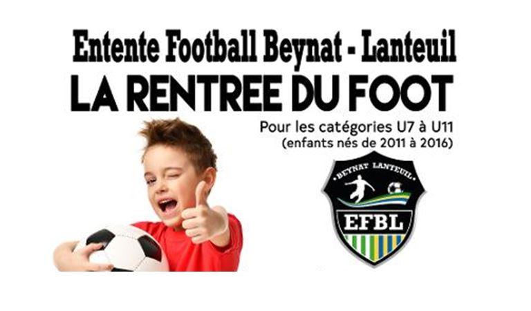 rentrée ecole foot 2021